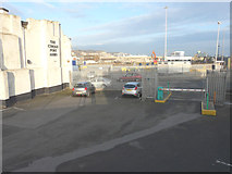 TR3140 : Demolition site, Dover Western Docks by John Baker