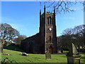 NY0336 : St Mary, Maryport: mid-February 2015 by Basher Eyre