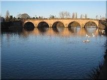 SO8454 : Worcester Bridge by Philip Halling