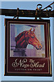 SK7965 : Sign of The Nag's Head by Richard Croft
