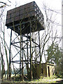 TG1602 : High-level Braithwaite water tank and pump house by Evelyn Simak