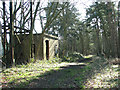 TG1602 : WW2 bore hole pump house by Evelyn Simak