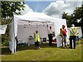 SJ9593 : First-Aid Tent by Gerald England