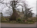SD2475 : St Peter, Lindal in Furness: mid-February 2015 by Basher Eyre