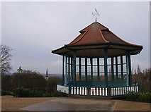 TQ3473 : Bandstand, Horniman Gardens by Ian Taylor