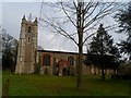 TL6533 : St Mary the Virgin (south side), Little Sampford by Bikeboy