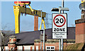 J3674 : 20 mph zone, Mersey Street, Belfast (February 2015) by Albert Bridge