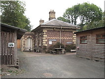 SJ6604 : Coalbrookdale railway station (site), Shropshire by Nigel Thompson