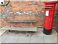 TM1744 : Seat & 131A Woodbridge Road Postbox by Adrian Cable