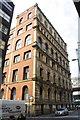 SJ8498 : Britannia Hotel, Silver Street / Portland Street junction by Roger Templeman