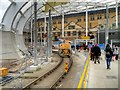 SJ8498 : Refurbishment Work at Manchester Victoria Station (February 2015) by David Dixon
