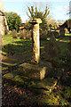 SK7267 : Churchyard Cross by Richard Croft