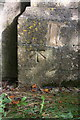 SP3725 : Benchmark on St Kenelm's Church by Roger Templeman