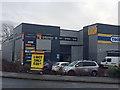 SE3704 : Halfords autocentre on Wombwell Lane A633 by Steve  Fareham
