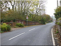 SS9712 : Bridge over the disused railway in Tidcombe Lane Tiverton by Rod Allday