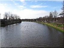 J3472 : The River Lagan upriver of the Ormeau Bridge by Eric Jones