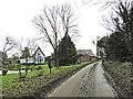TM2195 : Fairstead Lane past Lime Tree Farm by Adrian S Pye