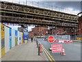 SJ8397 : Whitworth Street West, Exhibition Footbridge by David Dixon