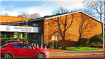 SP3378 : Brickwork pattern, Coventry Police Station by John Brightley