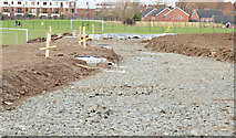 J3673 : New path, Dixon Park, Belfast - February 2015(1) by Albert Bridge