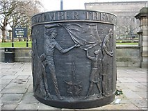 SJ3490 : Hillsborough Memorial by Philip Halling