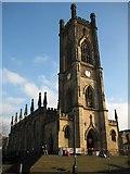 SJ3589 : St Luke's church, Liverpool by Philip Halling