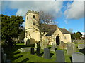 ST4988 : St Mary's Church, Portskewett by John Lord