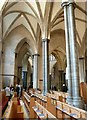 TQ3181 : Temple Church - Chancel south aisle by Rob Farrow