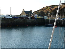 NW9954 : Portpatrick inner harbour by derek menzies