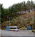 SS8595 : Port Talbot bus at the Cymmer terminus by Jaggery