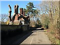 TQ3123 : Coach House, Chownes Mead Lane, Haywards Heath by Simon Carey