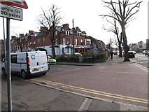 J3472 : The junction of South Parade and Middle Ormeau Road by Eric Jones