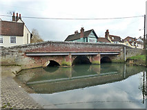 TL8422 : Long Bridge, Coggeshall by Robin Webster