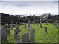 NR5268 : Burial ground, Keils by William Starkey