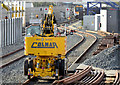 J3272 : NIR Colmar crane, Adelaide, Belfast (February 2015) by Albert Bridge