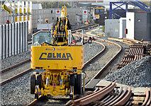 J3272 : NIR Colmar crane, Adelaide, Belfast (February 2015) by Albert Bridge