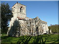 TL2338 : Church of St mary Magdalene, Caldecote by Humphrey Bolton