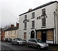 SO3700 : Early Victorian Royal Hotel in Usk by Jaggery