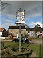 TM3958 : Snape village sign by Adrian S Pye