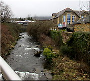 SS8591 : Upstream along the Llynfi, Maesteg by Jaggery