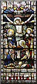TQ3486 : St Michael & All Angels, Stoke Newington - Stained glass window by John Salmon