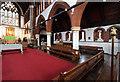 TQ3486 : St Michael & All Angels, Stoke Newington - South arcade by John Salmon