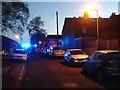 SP2965 : Ambulance in Avon Street, Warwick, evening by Robin Stott