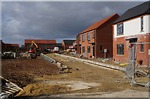 TA1330 : House building site off Exeter Grove, Hull by Ian S