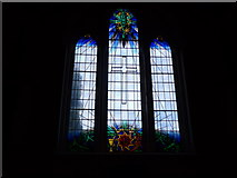 SD5193 : St Thomas, Kendal: stained glass window by Basher Eyre