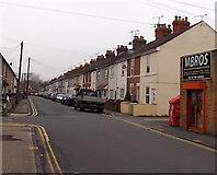 SU1585 : West along Whiteman Street, Swindon by Jaggery