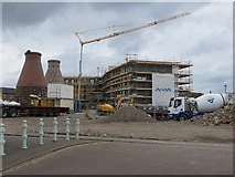 NT3074 : Construction, Portobello by Richard Webb