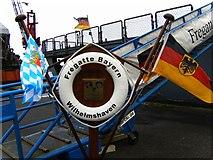 NT2677 : Fregatte Bayern Wilhelmshaven by Stu JP