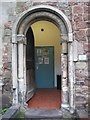 SO8454 : Norman-style arch, Maggs Day Centre by Philip Halling