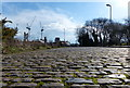 SK5704 : The cobbled Soar Lane in Leicester by Mat Fascione